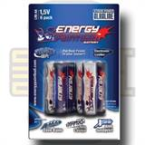 Batteri, 1,5 Volt, Alkalisk (AA) - Energy Paintball (6-pakk)